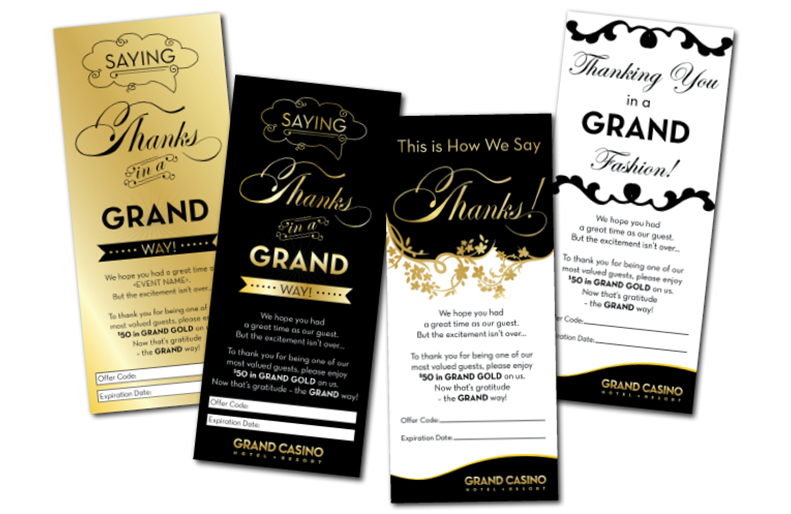 Grand Thank You Cards